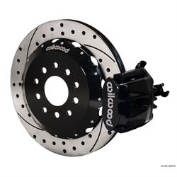 Wilwood 140-10207-D CPB Rear Disc Brake Kit, 90-01 Civic/Integra, 2.39