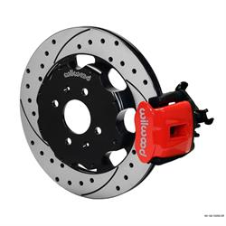 Wilwood 140-10209-DR CPB Rear Disc Brake Kit, 92-00 Civic, 2.46 Offset