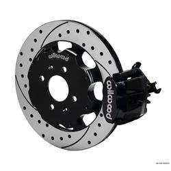 Wilwood 140-10209-D CPB Rear Disc Brake Kit, 92-00 Civic, 2.46 Offset