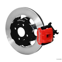 Wilwood 140-10209-R CPB Rear Disc Brake Kit, 92-00 Civic, 2.46 Offset