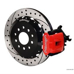 Wilwood 140-10211-DR CPB Rear Disc Brake Kit, 88-97 Civic, 2.71 Offset