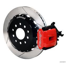 Wilwood 140-10211-R CPB Rear Disc Brake Kit, 88-97 Civic, 2.71 Offset