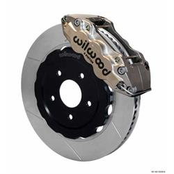 Wilwood 140-10226-N W6A/QS-ST 14 Front Disc Brake Kit, 97-13 Corvette