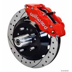 Wilwood 140-10284-DR FNSL6R 14 Front Disc Brake Kit, 57-70 GM Fullsize