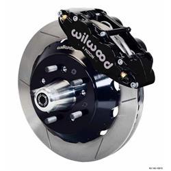 Wilwood 140-10284 FNSL6R 14 In Front Disc Brake Kit, 57-70 GM Fullsize