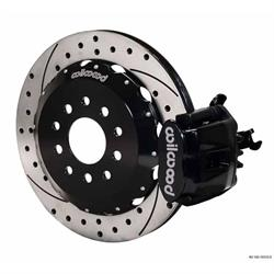 Wilwood 140-10310-D 12.88 CBP Rear Disc Brake Kit, 2000-09 Honda S2000