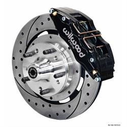 Wilwood 140-10510-D Dynapro 6 12.19 Inch Front Disc Brake Kit,64-74 GM