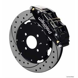 Wilwood 140-10736-D 12.19 Dynapro 6 Front Disc Brake Kit, 88-00 Civic