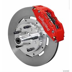 Wilwood 140-10739-R DP6 12.19 Inch Front Disc Brake Kit, 1937-49 Ford