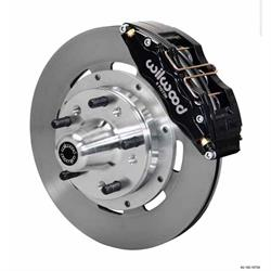 Wilwood 140-10739 DP6 12.19 Inch Front Disc Brake Kit, 1937-49 Ford