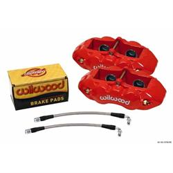 Wilwood 140-10790-R D8-4 Rear Caliper Kit, 1965-82 Corvette C2/C3