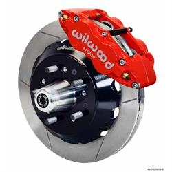 Wilwood 140-10816-R FNSL6R Front Disc Brake Kit, 62-72 Mopar B/E-Body