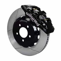 Wilwood 140-10830 AERO6 14 Inch Front Disc Brake Kit, 2005-Up Mustang