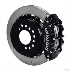Wilwood 140-10908 FNSL 4R Rear Brake Kit, Chevy 12 Bolt, C-Clip