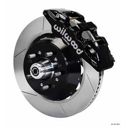 Wilwood 140-10920 AERO6 14 Inch Front Disc Brake Kit, 1964-74 GM