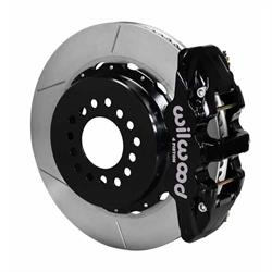 Wilwood 140-10943 AERO4 14 Inch Rear Parking Brake Kit, Chevy 12 Bolt