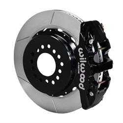 Wilwood 140-10951 AERO4 Rear Brake Kit, Mopar/Dana 2.36 Off