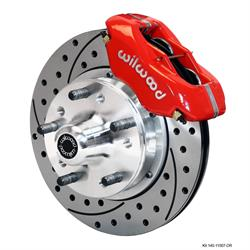 Wilwood 140-11007-DR FDLI Pro Series 11 Front Disc Brake Kit, 70-78 GM