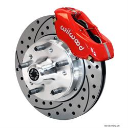 Wilwood 140-11012-DR FDLI Front Disc Brake Kit, 1982-92 Camaro/Firebird
