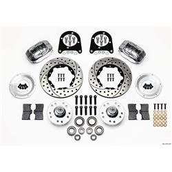 Wilwood 140-11013-DP FDLI Pro Series Front Disc Brake Kit, 1937-49 Ford