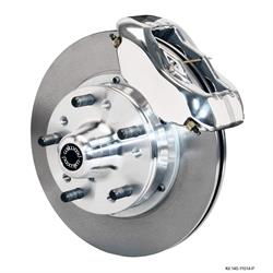 Wilwood 140-11014-P FDLI 11 Pro Series Front Disc Brake Kit, 37-49 Ford
