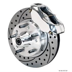 Wilwood 140-11017-DP FDLI Front Disc Brake Kit, 74-80 Pinto/Mustang II