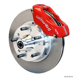 Wilwood 140-11017-R FDLI Front Disc Brake Kit, 1974-80 Pinto/Mustang II