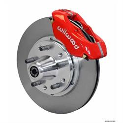 Wilwood 140-11018-R FDL Pro Series Front Disc Brake Kit, 84-93 Mustang