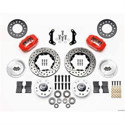 Wilwood 140-11019-DR FDLI Pro Series Front Disc Brake Kit, 73-89 Mopar