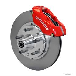 Wilwood 140-11022-R FDLI Pro Series Front Disc Brake Kit, 1960-72 Mopar