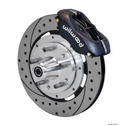 Wilwood 140-11072-D FDLI 12.19 Front Disc Brake Kit, 65-70 Ford/Mercury