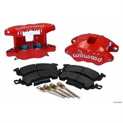 Wilwood 140-11290-R D52 Front Caliper Kit, 2 Inch Piston/1.28 Rotor