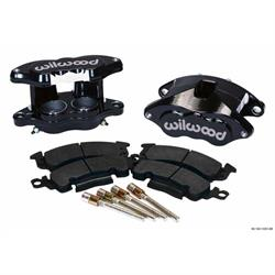 Wilwood 140-11291-BK D52 Front Caliper Kit, 2 In Piston, 1.04 In Rotor