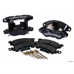 Wilwood 140-11292-BK D52 Rear Caliper Kit, 1.25 Piston, 1.28 Rotor