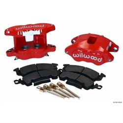 Wilwood 140-11292-R D52 Rear Caliper Brake Kit, 1.25 / 1.28 Inch