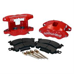 Wilwood 140-11293-R D52 Rear Brake Kit, 1.25 / 1.25 Piston,1.04 Rotor