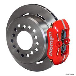 Wilwood 140-11395-R FDLI LP Rear Brake Kit, Mopar/Dana 2.36 Off