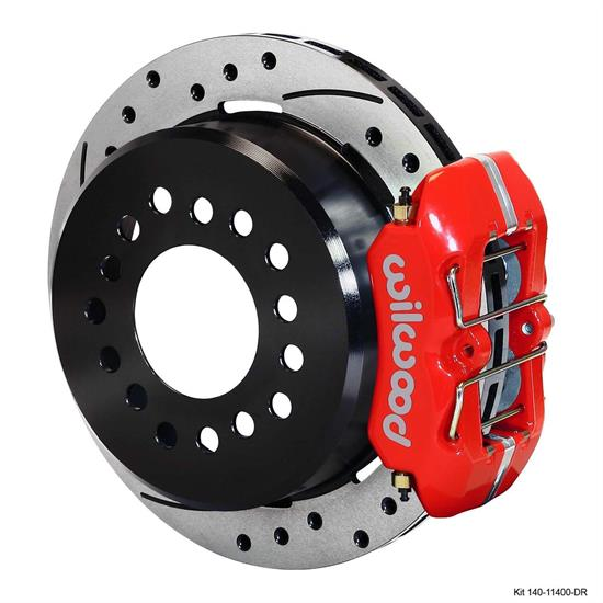 Wilwood 140-11400-DR FDLI LP Rear Brake Kit, Chevy 12 Bolt 2.81 Off