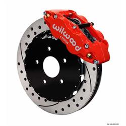 Wilwood 140-11583-DR FNSL6R Front Disc Brake Kit,07-Up Nissan/Infiniti