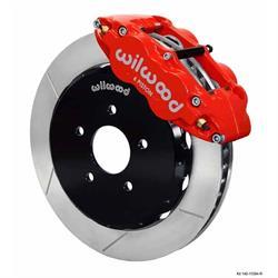 Wilwood 140-11584-R FNSL6R Front Disc Brake Kit, 07-Up Nissan/Infiniti