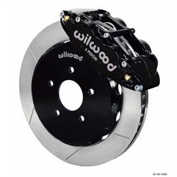 Wilwood 140-11584 FNSL6R Front Disc Brake Kit, 2007-Up Nissan/Infiniti