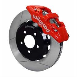 Wilwood 140-11764-R AERO6 14.25 Inch Front Disc Brake Kit, 05-Up Mopar
