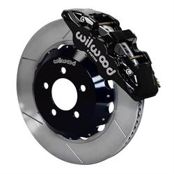 Wilwood 140-11764 AERO6 14.25 Inch Front Disc Brake Kit, 2005-Up Mopar