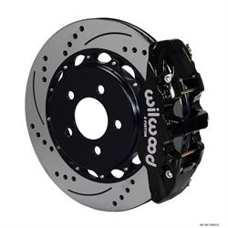 Wilwood 140-11765-D AERO4 14.25 Inch Rear Disc Brake Kit, 05-Up Mopar
