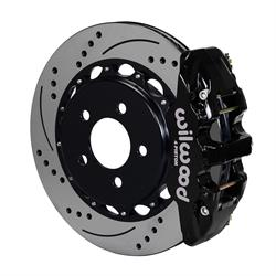 Wilwood 140-11765-D AERO4 14.25 Inch Rear Disc Brake Kit, 05-Up Mopar