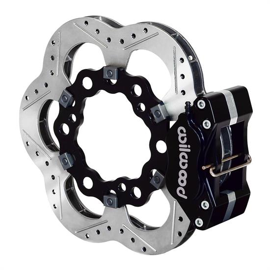 Wilwood 140-11808 Midget Pavement Forward Mount Front Brake Kit, 10.5 Inch