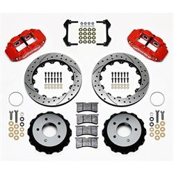 Wilwood 140-11920-DR FNSL 4R Rear Disc Brake Kit, 1984-87 Corvette C4