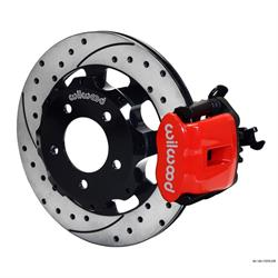 Wilwood 140-11979-DR CPB Rear Disc Brake Kit, 2006-Up Honda Civic