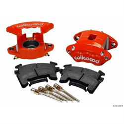 Wilwood 140-12097-R D154 Front Caliper Kit, 2.50 Piston/1.04 Rotor