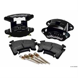 Wilwood 140-12100-BK D154 Front Brake Caliper Kit, Black Anodized